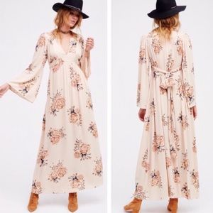 Free People Wild Laurel Maxi Floral Dress